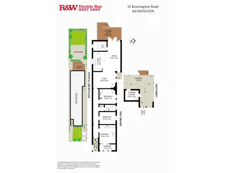 12 Kensington Road, Kensington NSW 2033 Floorplan
