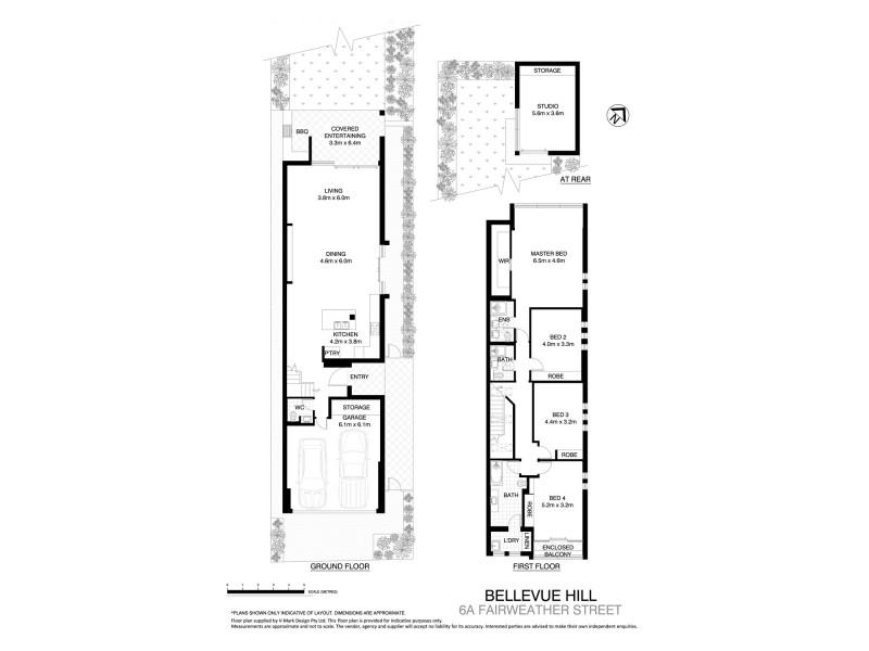 6A Fairweather Street, Bellevue Hill NSW 2023 Floorplan