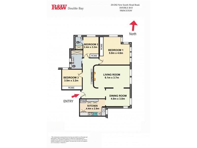 20/282 New South Head Road, Double Bay NSW 2028 Floorplan