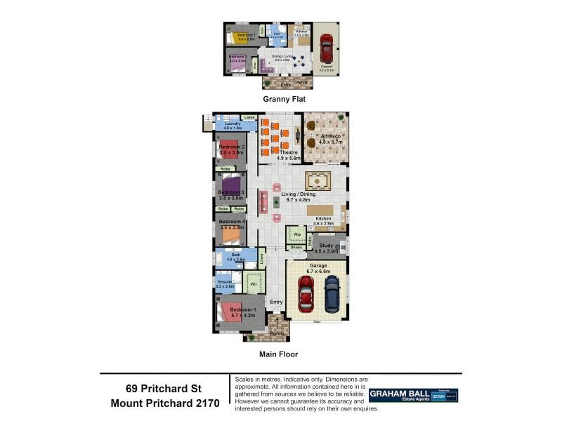 69 Pritchard Street, Mount Pritchard NSW 2170 Floorplan