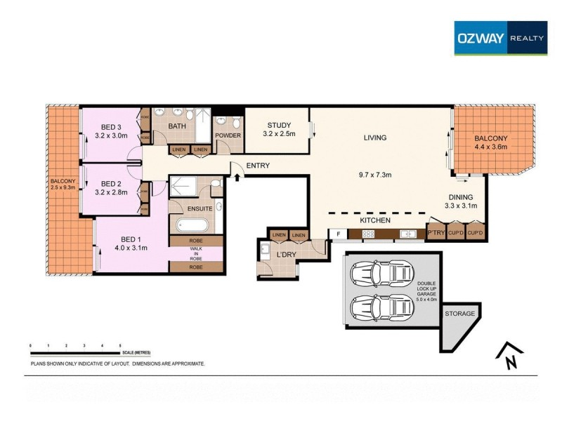 40/178 Campbell Parade, Bondi Beach NSW 2026 Floorplan