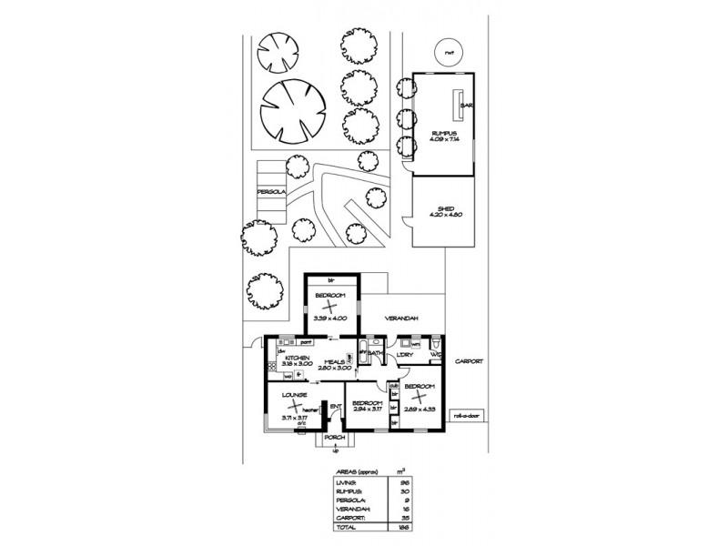 9 Blount St, Blair Athol SA 5084 Floorplan