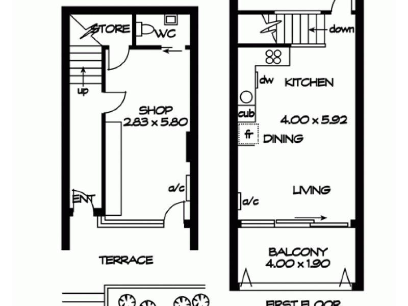 102/185 Morphett Street, Adelaide SA 5000 Floorplan