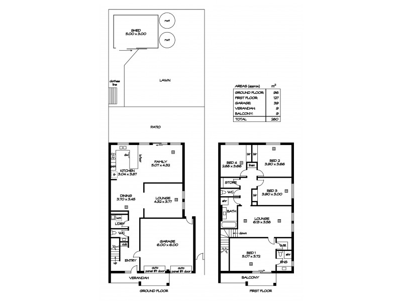 9 Redward  Avenue, Greenacres SA 5086 Floorplan
