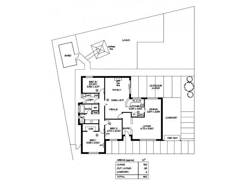 2 Navarino Court, Surrey Downs SA 5126 Floorplan