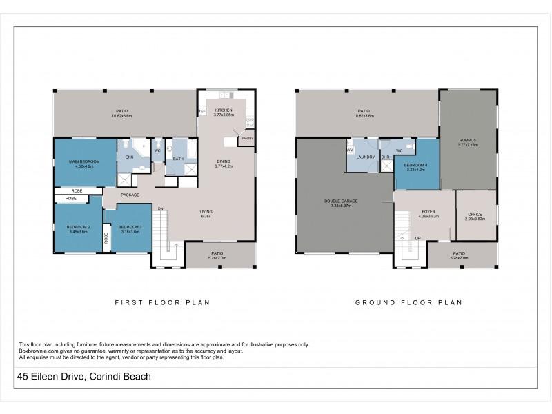 45 Eileen Drive, Corindi Beach NSW 2456 Floorplan