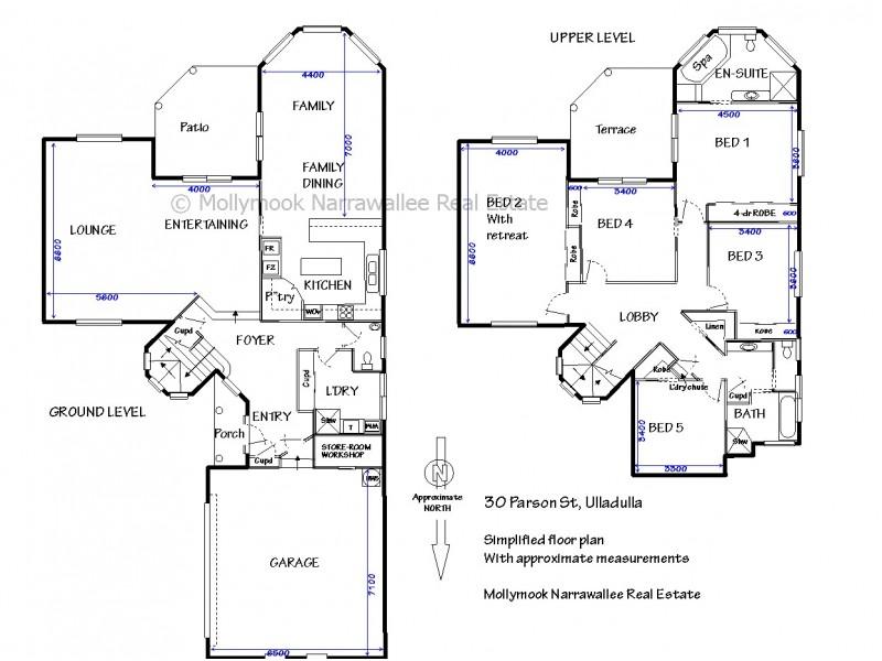 30 Parson St, Ulladulla NSW 2539 Floorplan