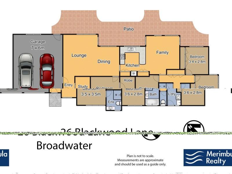 26 Blackwood Lane, Broadwater NSW 2549 Floorplan