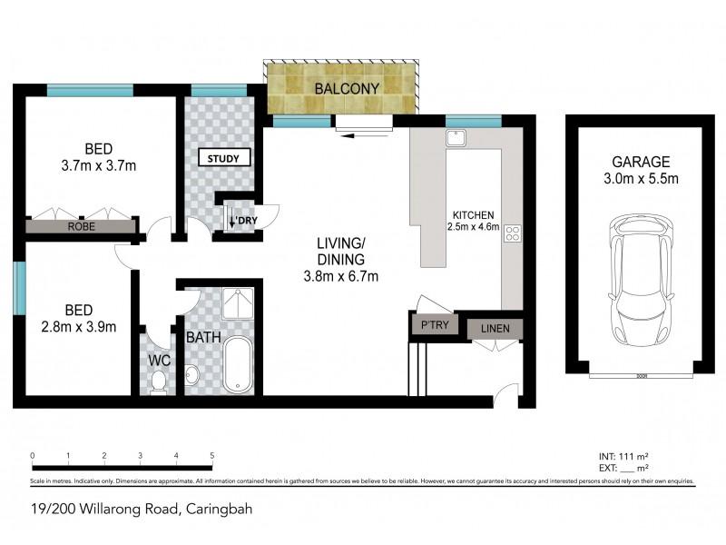 19/200 WILLARONG ROAD, Caringbah NSW 2229 Floorplan