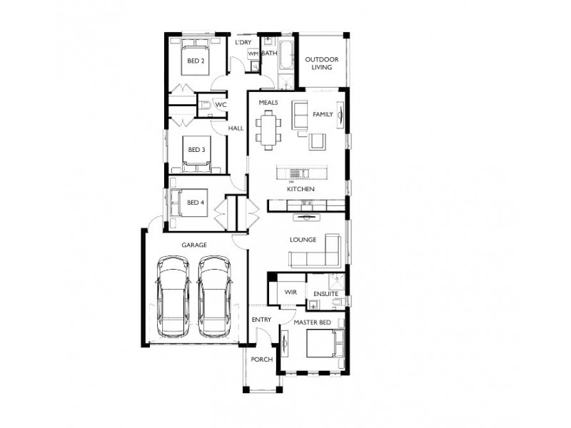 Lot 221, Fantail Street,, Ballarat VIC 3350 Floorplan