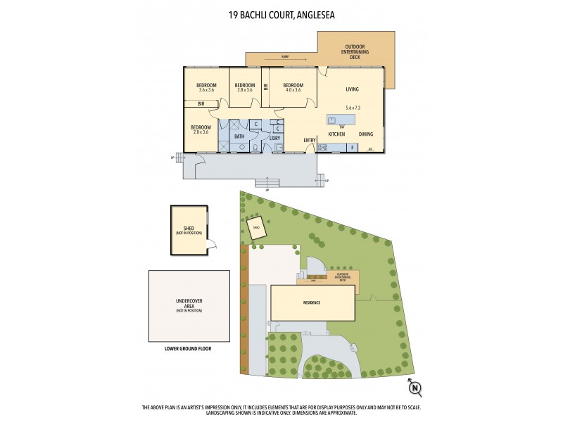 19 BACHLI COURT, Anglesea VIC 3230 Floorplan