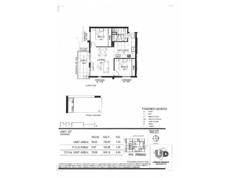 102/39 Gaffney Street, Coburg VIC 3058 Floorplan