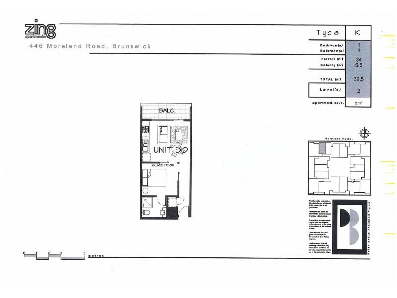 117/444-446 Moreland Road, Brunswick West VIC 3055 Floorplan