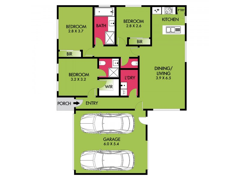 7/8-10 Regent St, Whittington VIC 3219 Floorplan