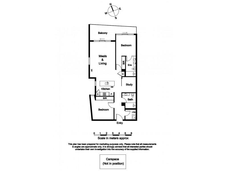 304/18 Berkeley Street, Doncaster VIC 3108 Floorplan