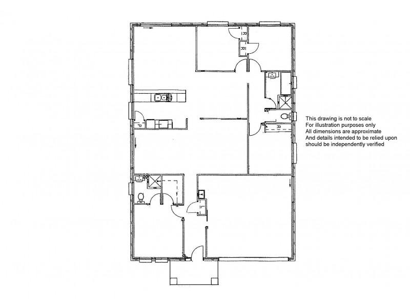 6 Dryandra Court, Tin Can Bay QLD 4580 Floorplan