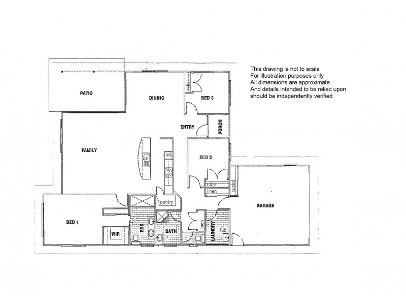 42 Sterling Castle Road, Tin Can Bay QLD 4580 Floorplan