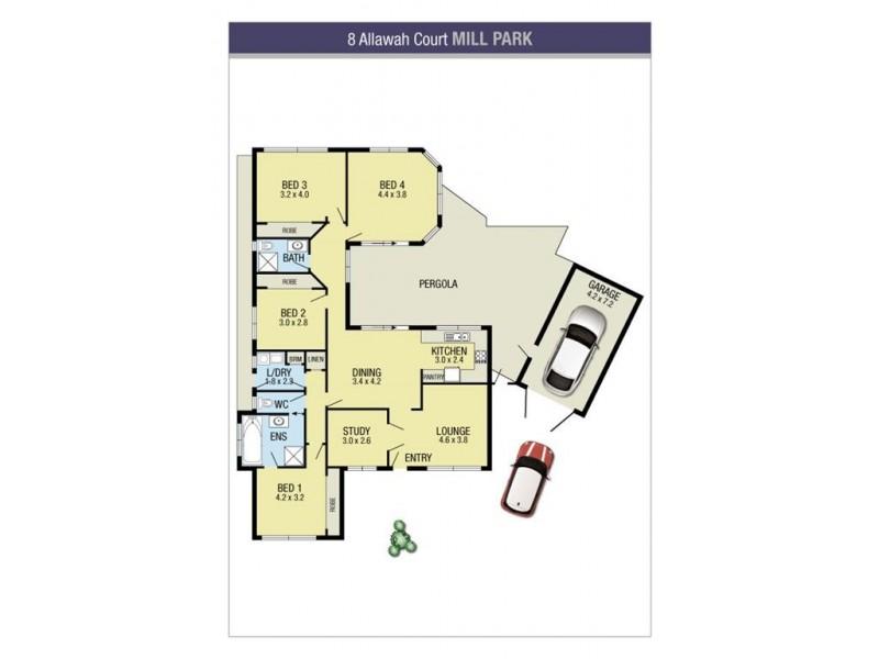 8 Allawah Court, Mill Park VIC 3082