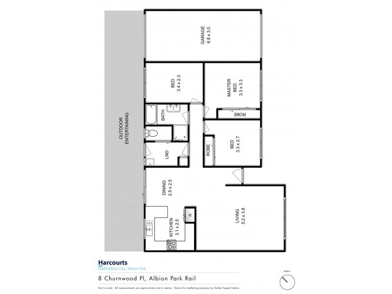 8 Churnwood Place, Albion Park Rail NSW 2527 Floorplan