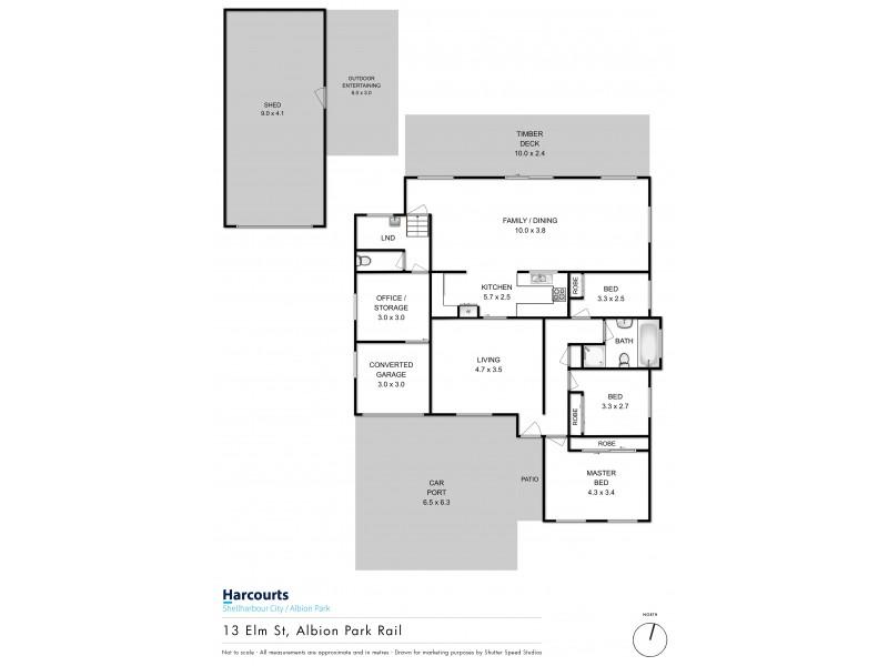 13 Elm Street, Albion Park Rail NSW 2527 Floorplan