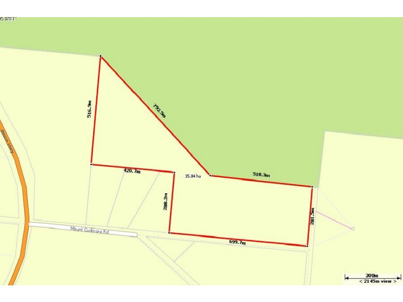 Lot 3 Mount Cudmore Road, Bemerside QLD 4850