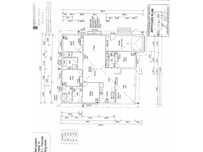 2/43 Santal Drive, Rasmussen QLD 4815 Floorplan