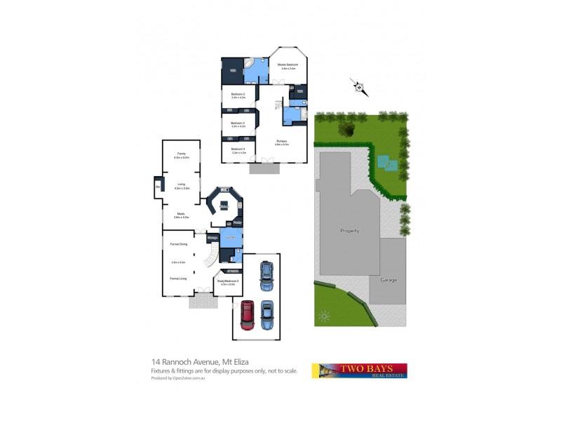 14 Rannoch Avenue, Mount Eliza VIC 3930 Floorplan
