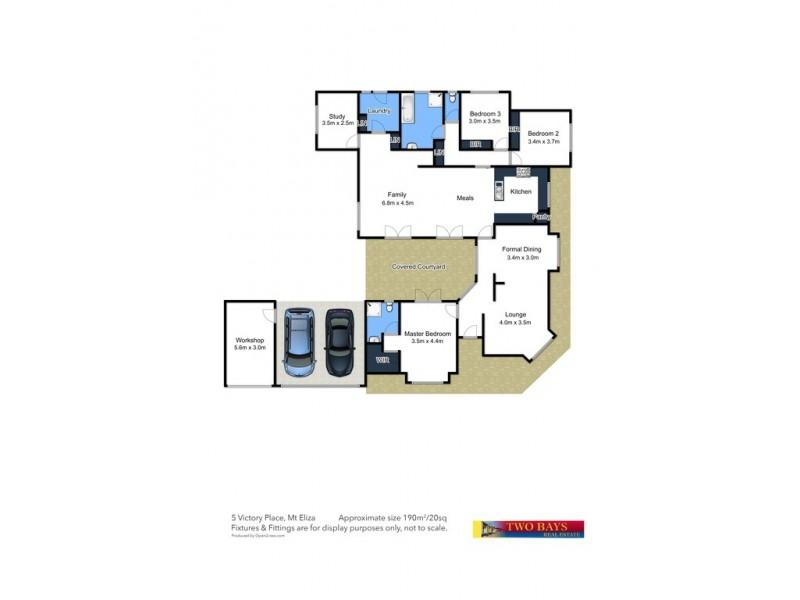 5 Victory Place, Mount Eliza VIC 3930 Floorplan