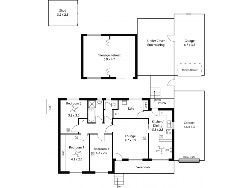 20 Salway Street, Elizabeth Park SA 5113 Floorplan