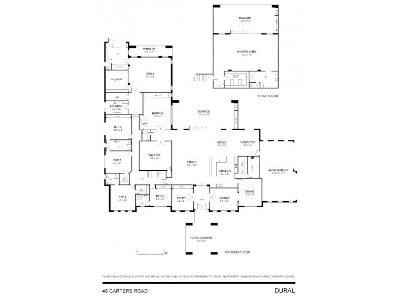 46 Carters Road, Dural NSW 2158 Floorplan