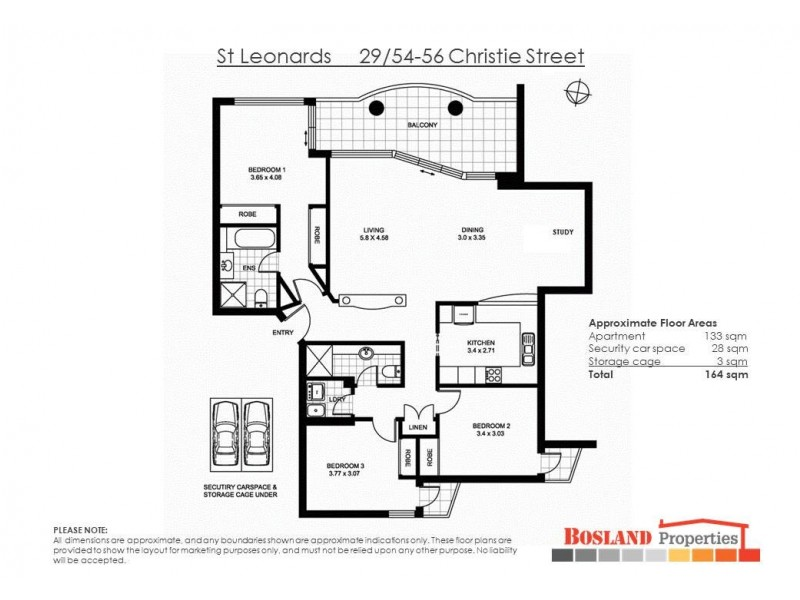 29/56 Christie Street, St Leonards NSW 2065 Floorplan