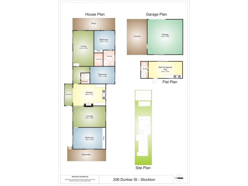 206 Dunbar Street, Stockton NSW 2295 Floorplan