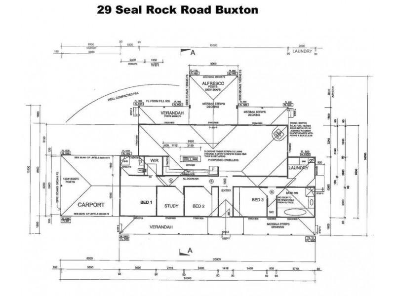 29 Seal Rock  Road, Buxton VIC 3711 Floorplan