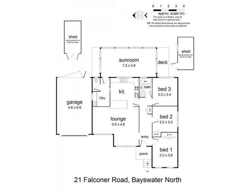 21 Falconer Crescent, Bayswater North VIC 3153 Floorplan