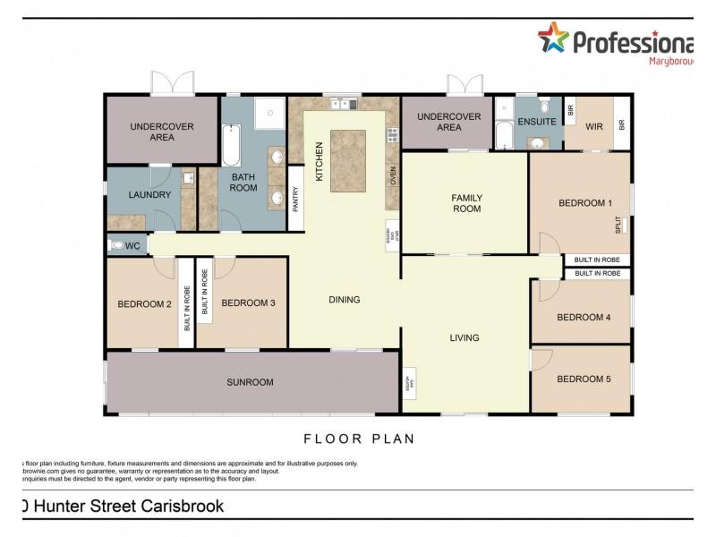 10 Hunter Street, Carisbrook VIC 3464 Floorplan