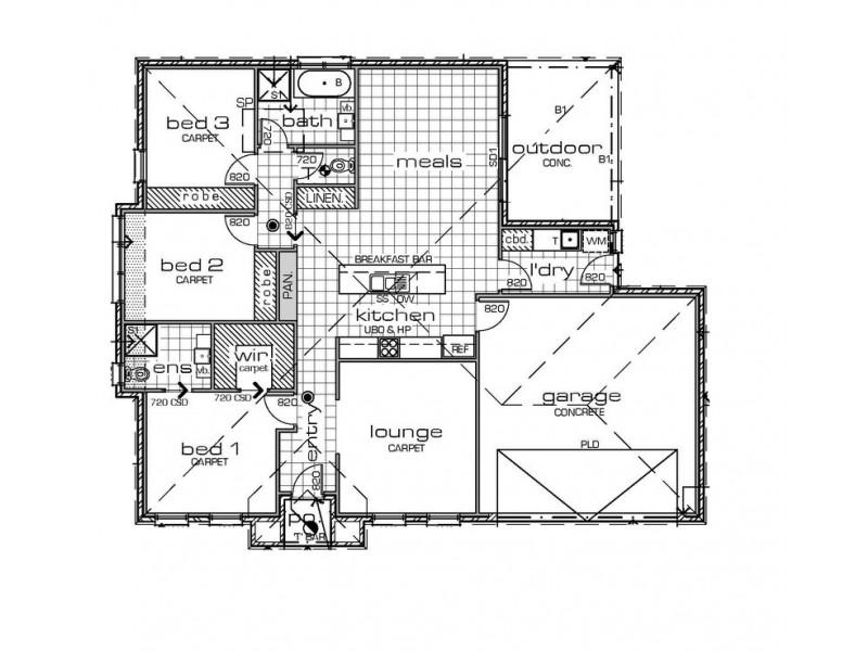 Lot 5b/474 Fifteenth Street, Mildura VIC 3500 Floorplan