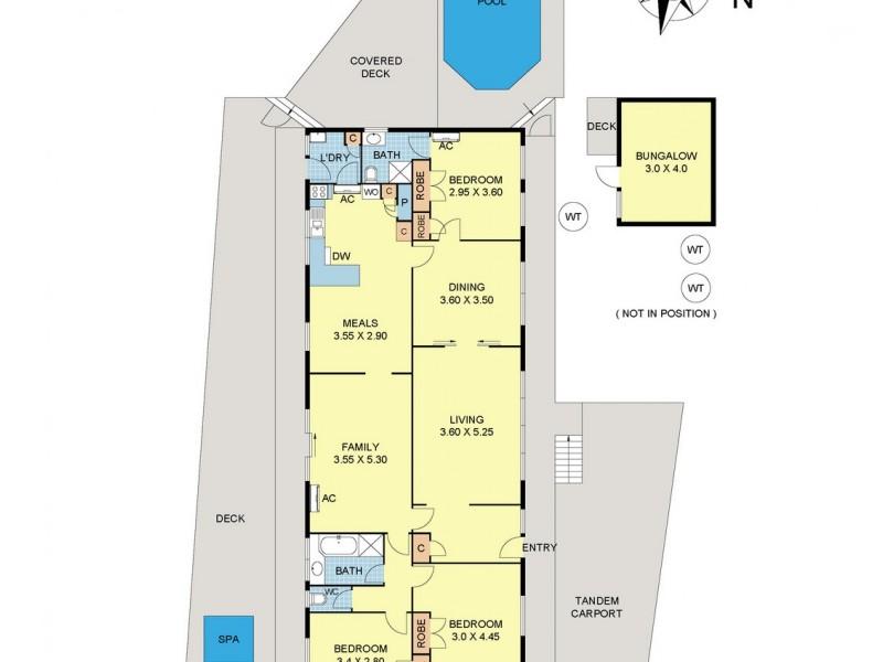 5 Rolloway Rise, Chirnside Park VIC 3116 Floorplan