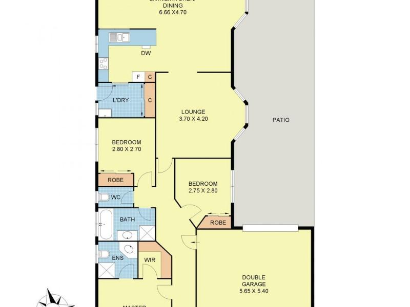 63 Billanook Way, Chirnside Park VIC 3116 Floorplan