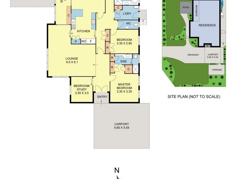 128 Bellara Drive, Croydon North VIC 3136 Floorplan