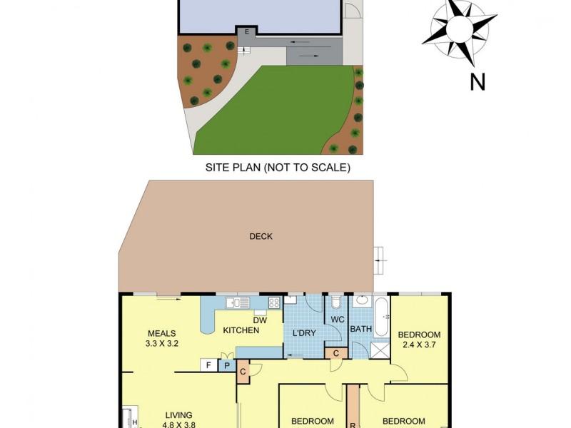 8 Malcolm Road, Croydon North VIC 3136 Floorplan