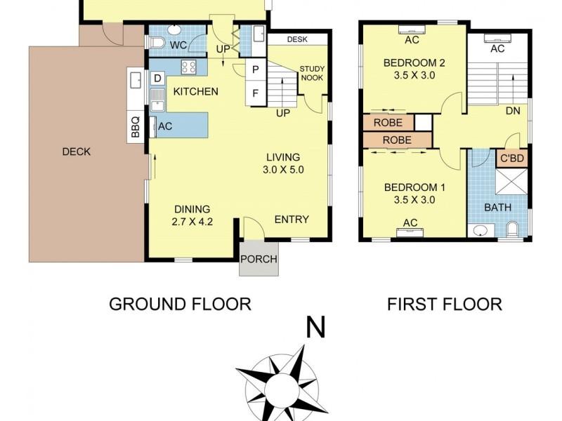 1 Prestige Close, Mooroolbark VIC 3138 Floorplan