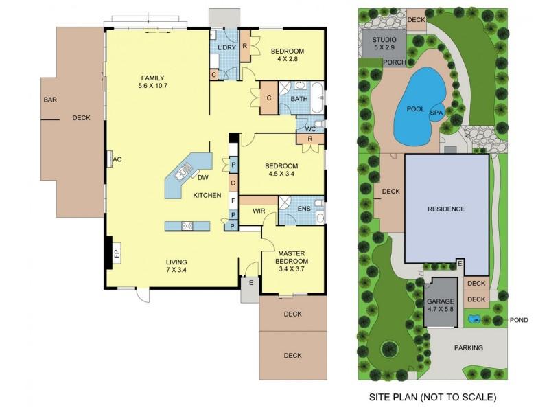 4 Bulga Street, Mooroolbark VIC 3138 Floorplan