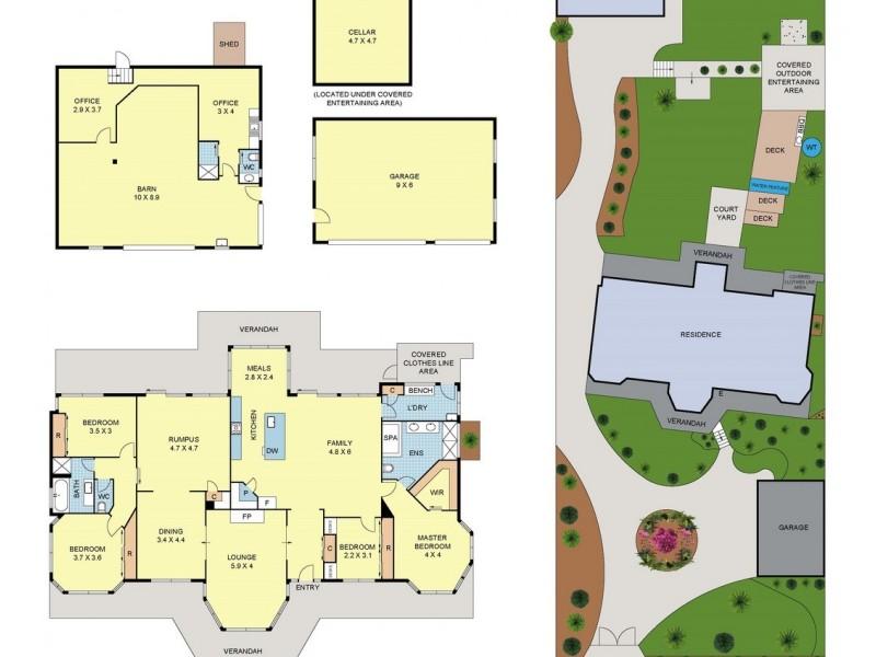 120 Cambridge Road, Kilsyth VIC 3137 Floorplan