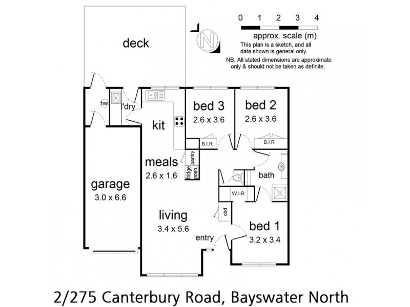 2/275 Canterbury Road, Bayswater North VIC 3153 Floorplan
