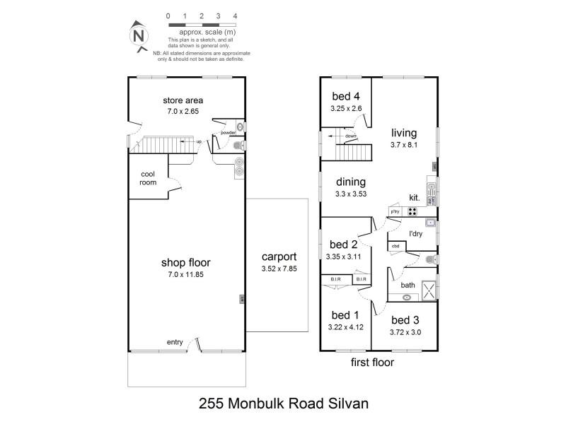 255 Monbulk Road, Silvan VIC 3795 Floorplan