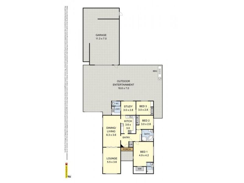 130 Werribee Street North, Werribee VIC 3030 Floorplan