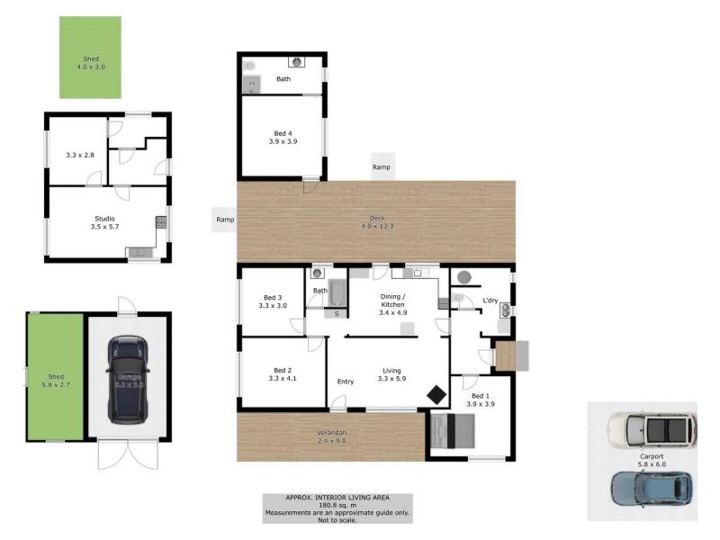 2/4 Palmerston Street, Barnawartha VIC 3688 Floorplan