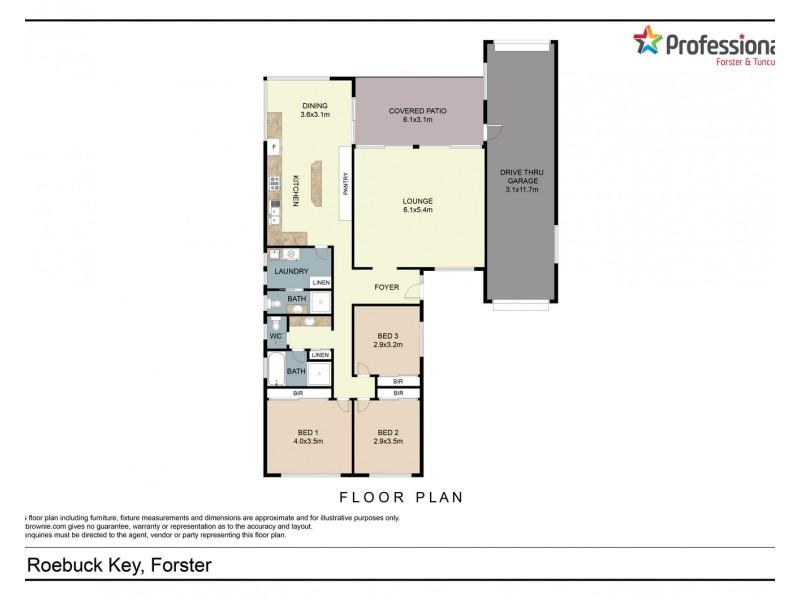 9 Roebuck Key, Forster NSW 2428 Floorplan