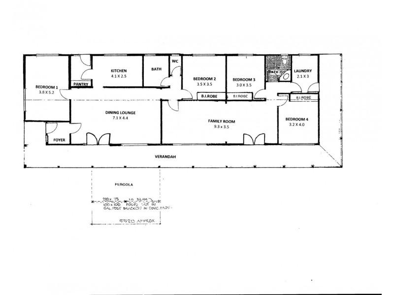 1715 Middle Arm Road, Goulburn NSW 2580 Floorplan