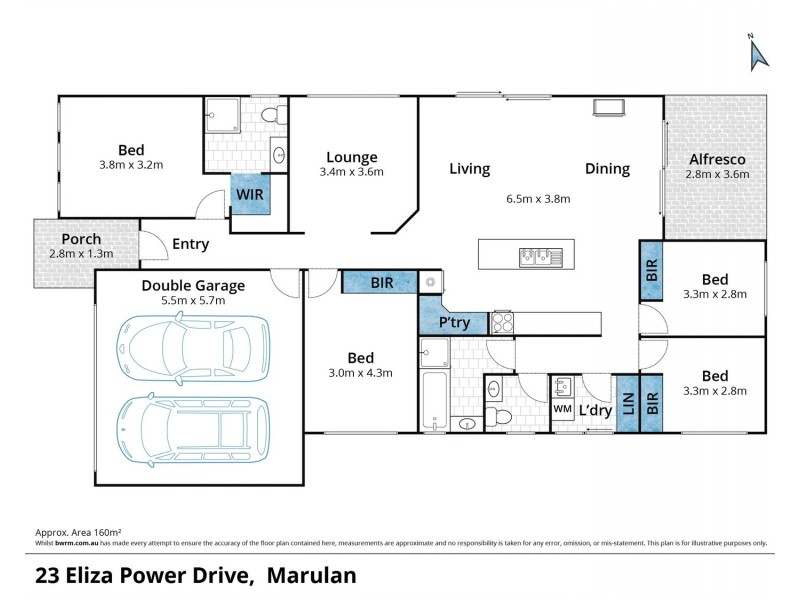 23 Eliza Power Drive, Marulan NSW 2579 Floorplan